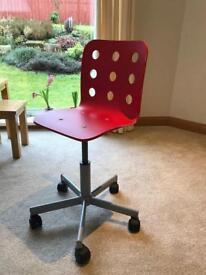 Ikea kids wooden desk chair