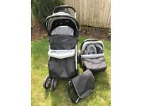 Trenton Deluxe Pram Pushchair Travel System