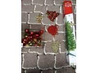 Christmas tree & extra decorations