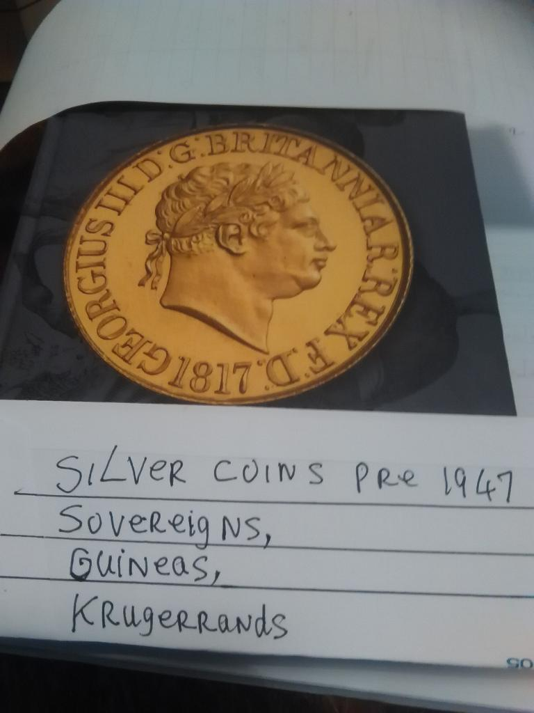 Gold & Silver Coins Wanted