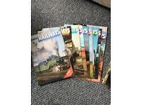 History of Railways magazine collection 48 parts