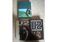 3 U2 BOOKS BRAND NEW
