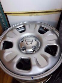 NEW Dacia Duster 16'' Wheels 6.5x16 ET50 5 Stud - WHL15245
