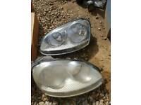Mk5 golf jetta chrome headlights