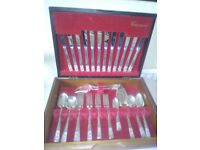 Complete Community Silver Plate Canteen of Cutlery