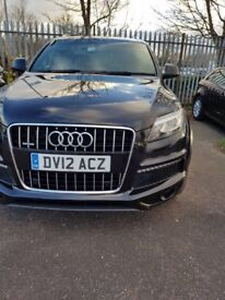 Audi Q7 3.0 TDI S Line Plus Quattro 5dr Panoramic Sunroof