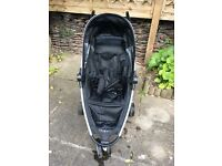 Quinny stroller with rain cover