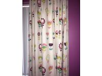 Next blackout retro floral curtains