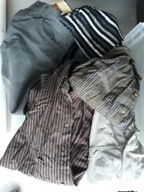 Mens Shirts, Tops, Jumpers, Trousers