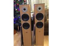 Eltax Mirage 100w rms floorstanding speakers