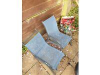 Childrens garden chairs