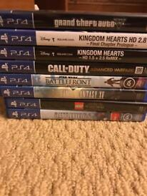 PS4 Playstation 4 Game Bundle