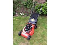 Mountfield laser petrol lawnmower. Fully serviced mower