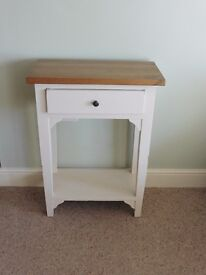 Occasional console table shabby chic
