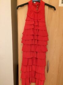Beautiful Reiss Red Dress, size 10, perfect condition