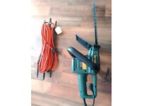 HEDGE TRIMMER + EXTRAL LONG EXTENSION WIRE-GARDEN TOOL BLACK & DECKER USED WORKING 100%