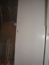 2 x internal white painted doors. Will sell separately for £5 each.