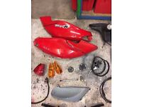PIAGGIO FLY 125 100 50 - BIG BOX OF PARTS - VESPA - SEE PHOTOS