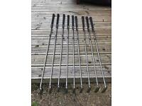 Set of 9 Ping Golf Clubs