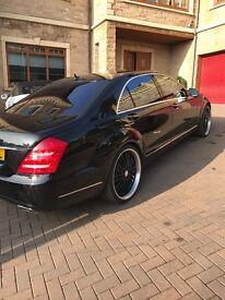 Mercedes S500 2012 black low mileage 18k