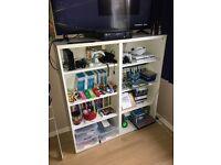 IKEA BESTA Double Bookcase, Storage Unit