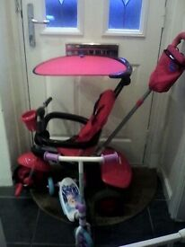 3 in 1 trike and Disney frozen scooter - great condition - £30 or very near offer