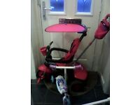 3 in 1 trike and Disney frozen scooter - great condition - £25 or very near offer