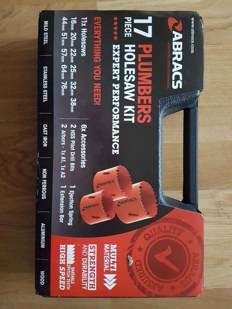 Abracs plummers holesaw set