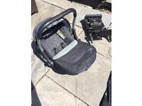 Silver Cross 3D Car Seat & Isofix Base