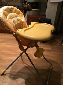 Graco High Chair with detachable toys