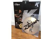 "Zildjian K Thin Dark Crash 16""/40cm"