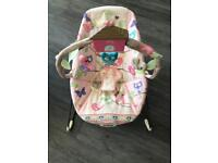 Fisher Price Girls Bounce / vibrating chair
