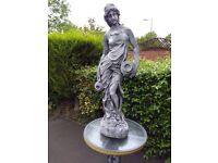 Grecian lady carrying water urn