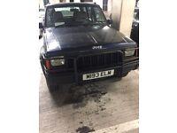 Jeep Cherokee 1995 2.5l diesel. Spares or repair