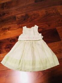 Jacadi baby girl dress, 12 months