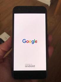 New Google Pixel - 128gb black