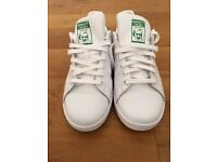 Stan Smith White/Green Man Size UK9