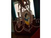 Disney princess loght chandelier