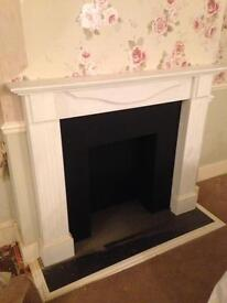 Wooden Fireplace Surround 54""
