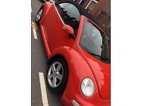 Volkswagen Beetle orange! 1.6 petrol cabriolet