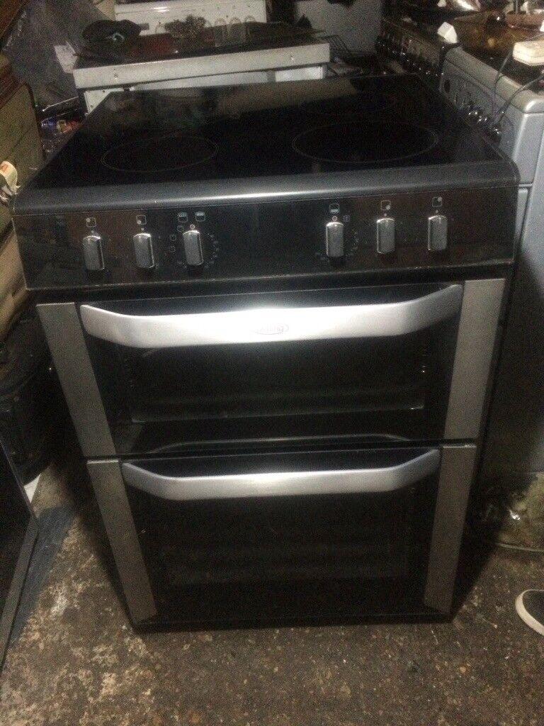 £127.99 Belling sls black ceramic electric cooker+60cm+3 months warranty for £127.99