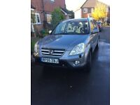 Honda CR-V 2.2i CDTi Diesel SPORT , 1 years MOT , LOW MILEAGE, TOW BAR, GREAT CAR..