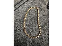 9ct gold heavy belcher chain 165.7 grams