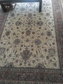 2/3 Persian rug like new £235