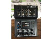 Mackie 5-channel mixer