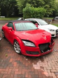 Damaged Audi TT dsg convertible