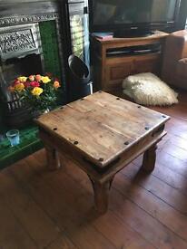 Indian hardwood coffee table