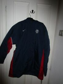 Rangers Nike Managers Winter Coat