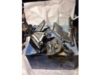 Honda FireBlade front footpegs & gear changer