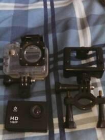 Action cam .. Go pro copy